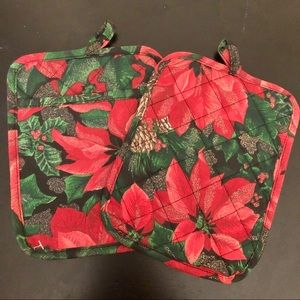 Christmas Pot Holder Set